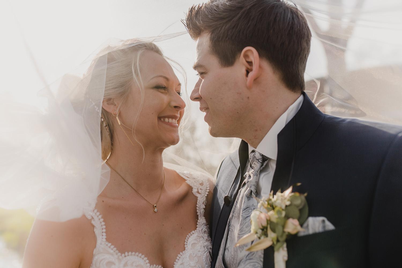 Brautpaar Schleier Kathrin Filla Fotografie