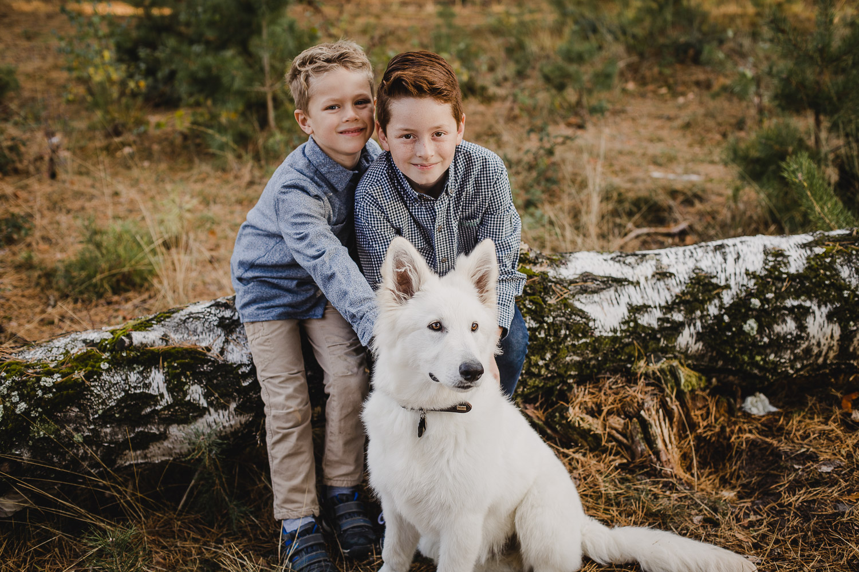 Familienfotos Familienshooting in der Heide Aachen-2