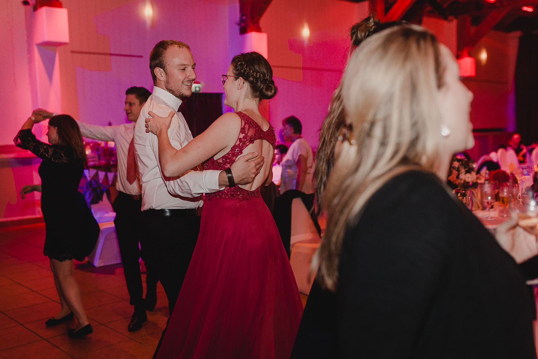 Partyfotos auf der Hochzeit
