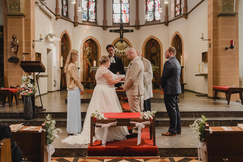Ringtausch Braut und Bräutigam