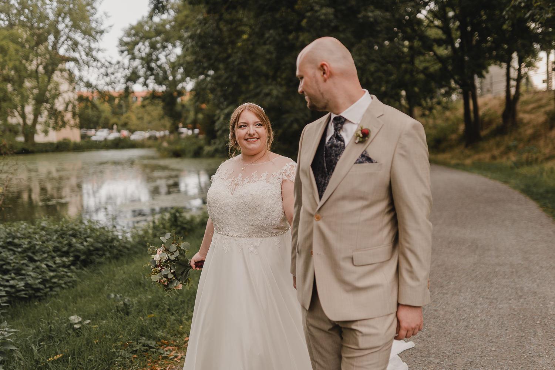 Braut und Bräutigam Paarshooting
