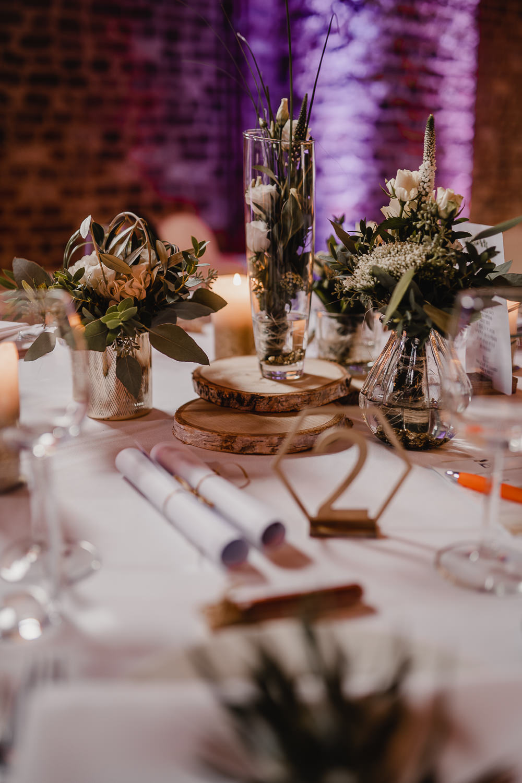 Hochzeitsdekoration gold Inspiration