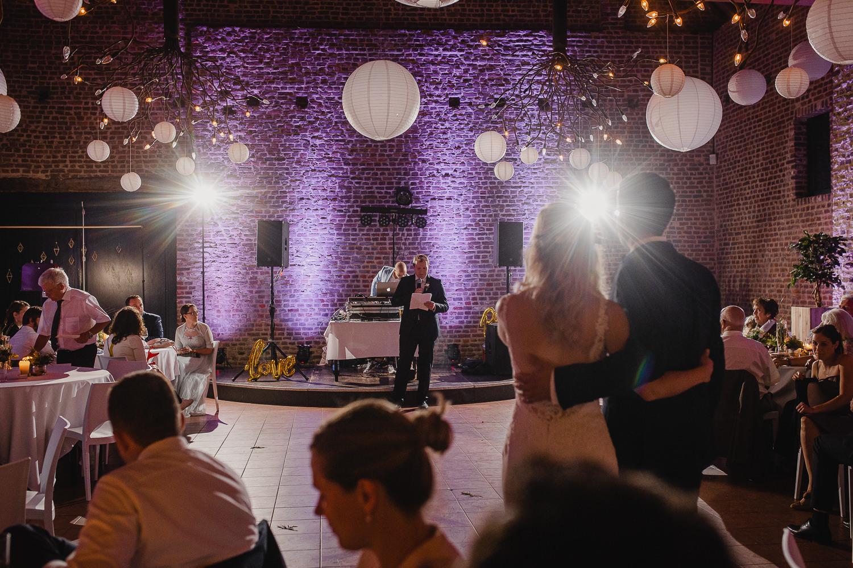 Rede auf der Hochzeit