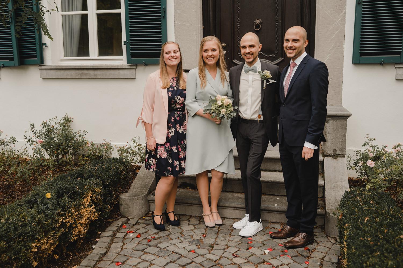 Gruppenfoto Hochzeit Haus Spiess Erkelenz