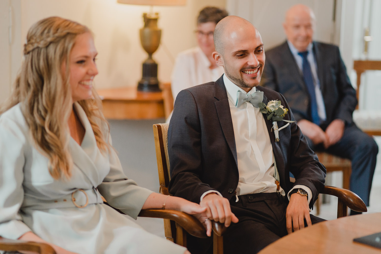 Bräutigam im Haus Spiess Erkelenz