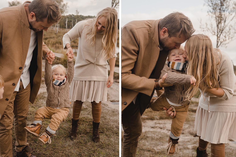 Familienshooting im Oktober